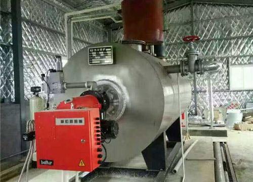 临潼客户使用1吨燃油锅炉