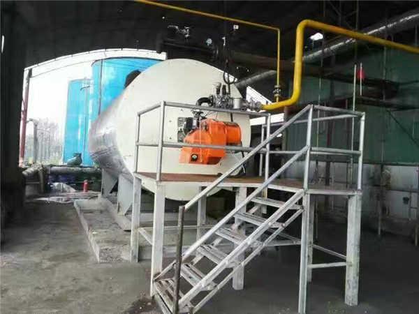陕西兴平使用燃气导热油炉
