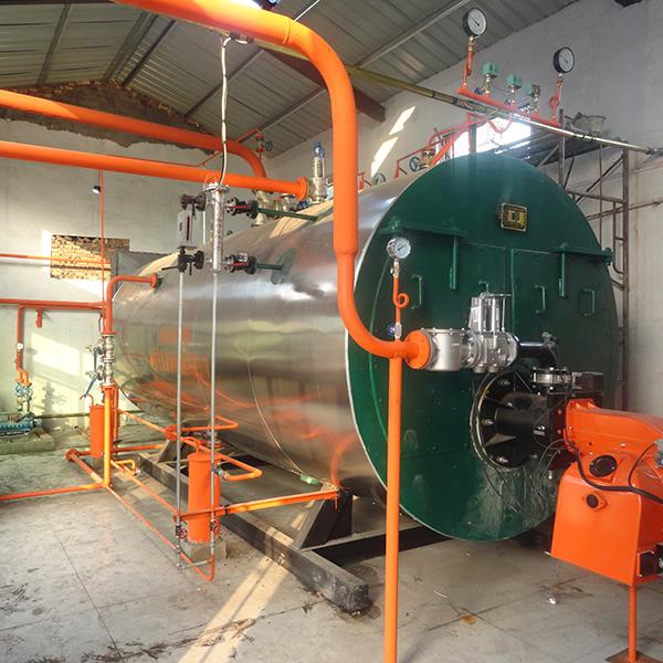 山东聊城-燃气蒸汽锅炉