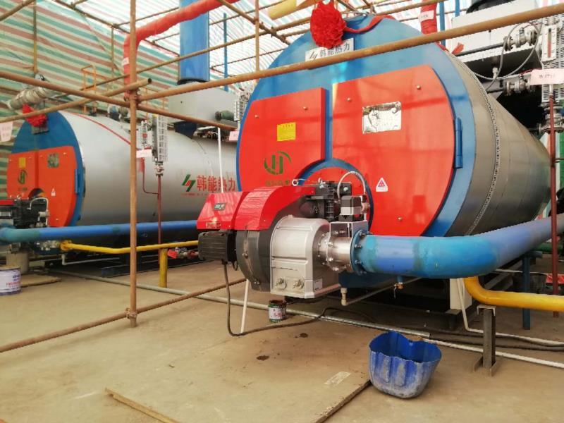河北邯郸孙庄煤矿WNS4/WNS6低氮30mg燃油气蒸汽锅炉