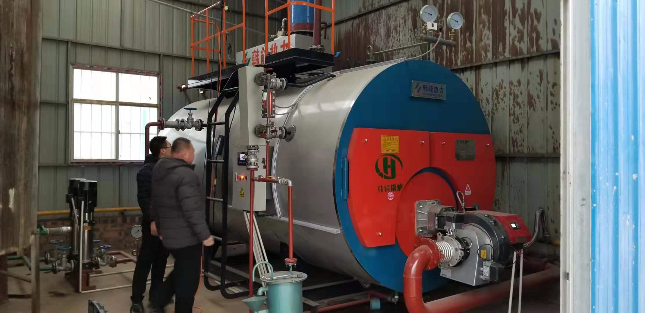 河南涛涛包装有限公司2T低氮30mg燃气蒸汽锅炉